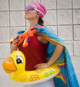 Swimming poule
